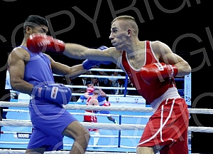 The Final of 60th boxing tournament Golden Glove held in Kombank
