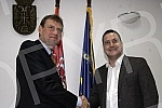 Minister of State Administration and Local Self-Government of Serbia Branko Ruzic met with representatives of the International Monetary Fund (IMF) Mission, led by James Ruff.