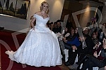 A celebrated lady magazine in wedding dresses at Hyatt Hotel was held.
