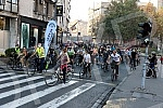 Cyclists are driving through the streets of Belgrade to indicate the excessive pollution that Belgrade has been exposed to for the past few days.Biciklisti voze beogradskim ulicama kako bi ukazali na prekomerno zagadjenje kojem su izlozeni Beogradjan