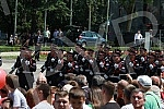 Celebration of Day of police of Republic Serbia.