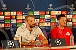 Press conference FK Salzburg held at the Rajko Mitić Stadium before the first qualifying match for the Champions League between FK Red Star and FK Salzburg.