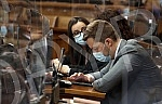 Members of the National Assembly of the Republic of Serbia continued the fifth session of the Second Regular Session by considering the financial plans of independent institutions.