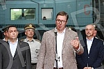 The President of the Republic of Serbia, Aleksandar Vucic, visited the Military Technological Institute.