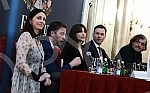 Press conference 45 FEST where they talked Emir Kusturica, Sinisa Mali, Freedom Micalovic and Monica Bellucci.