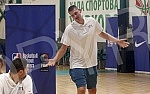 Opening of the international basketball camp