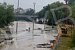 The river Ibar overflowed in Kraljevo