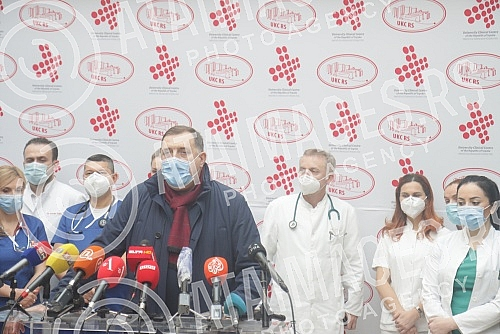 Serbian member and chairman of the Presidency of BiH Milorad Dodik said at a press conference, after he was released for home treatment from the University Clinical Center of Republika Srpska in Banja Luka, that this was the most difficult 25 days in