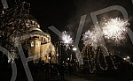 Celebreting Orthodox New Year in Belgrade.