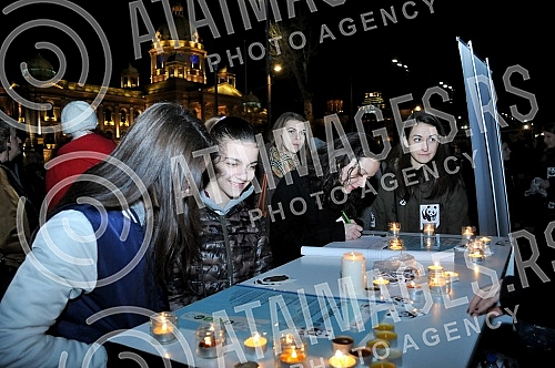 Action Earth Hour 2016 was held for the eighth time in Serbia. At 20.30 the lights were extinguished for one hour.