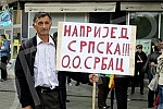 Opposition protest entitled