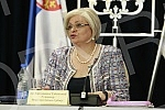 National Bank of Serbia Governor Jorgovanka Tabakovic Press Conference.