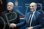 The Minister for the Care of the Village, Milan Krkobabic, met with the Belgrade Archbishop Stanislav Hocevar and the delegation of the humanitarian organization