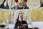 Stanislav Hocevar, the Archbishop of Belgrade, read the Ascension Epistle.Stanislav Hocevar, beogradski nadbiskup procitao je uskrsnju poslanicu.